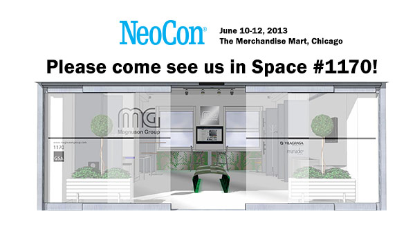 Come see Magnuson Group at NeoCon 2013 in space #1170!
